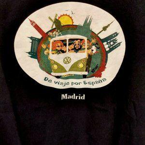 ROLY Hippy T Shirt XL I Love Spain VW Van